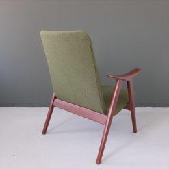 Louis van Teeffelen easychair lindengroene stof