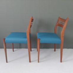 Minimalistische vintage stoelen