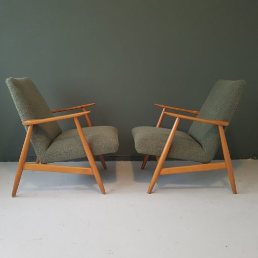 Vintage deense design fauteuils